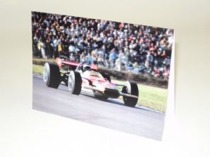 Lotus 49 Jochen Rindt 1969 . Greetings card